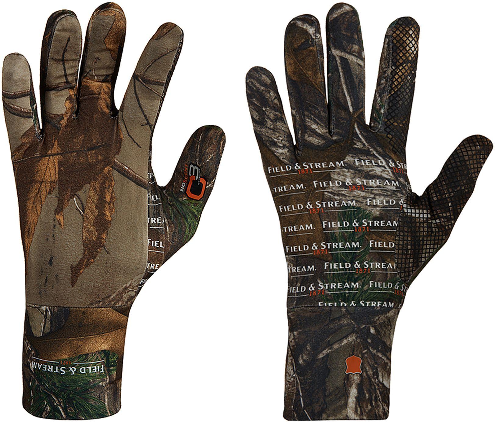 Field & Stream Men's Base Defense Lightweight Gloves, Brown thumbnail