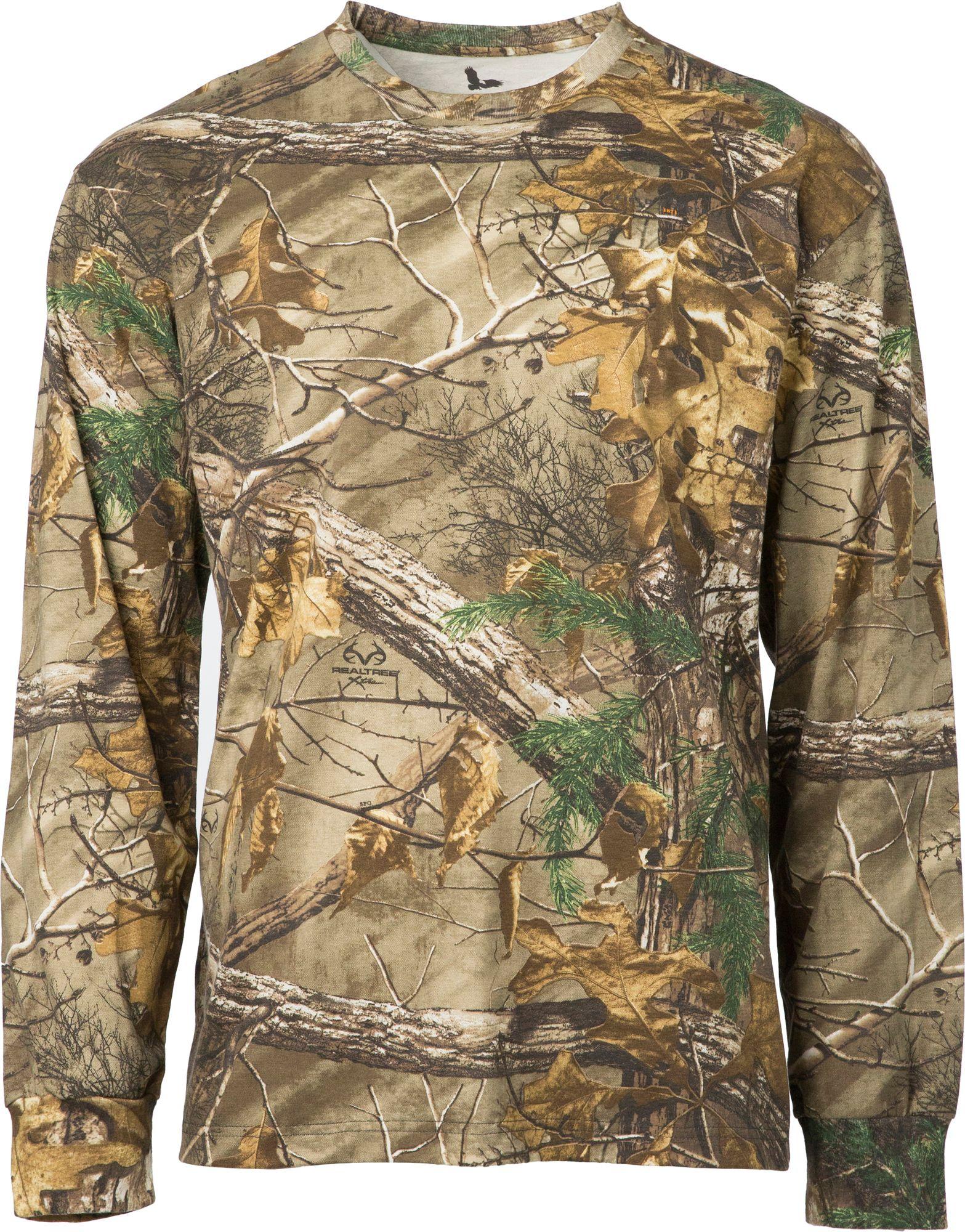 Field & Stream Men's Camo Long Sleeve Shirt, Size: Small, Multi