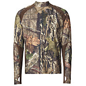 Field & Stream Men's Base Defense Midweight Mock Neck Base Layer Shirt