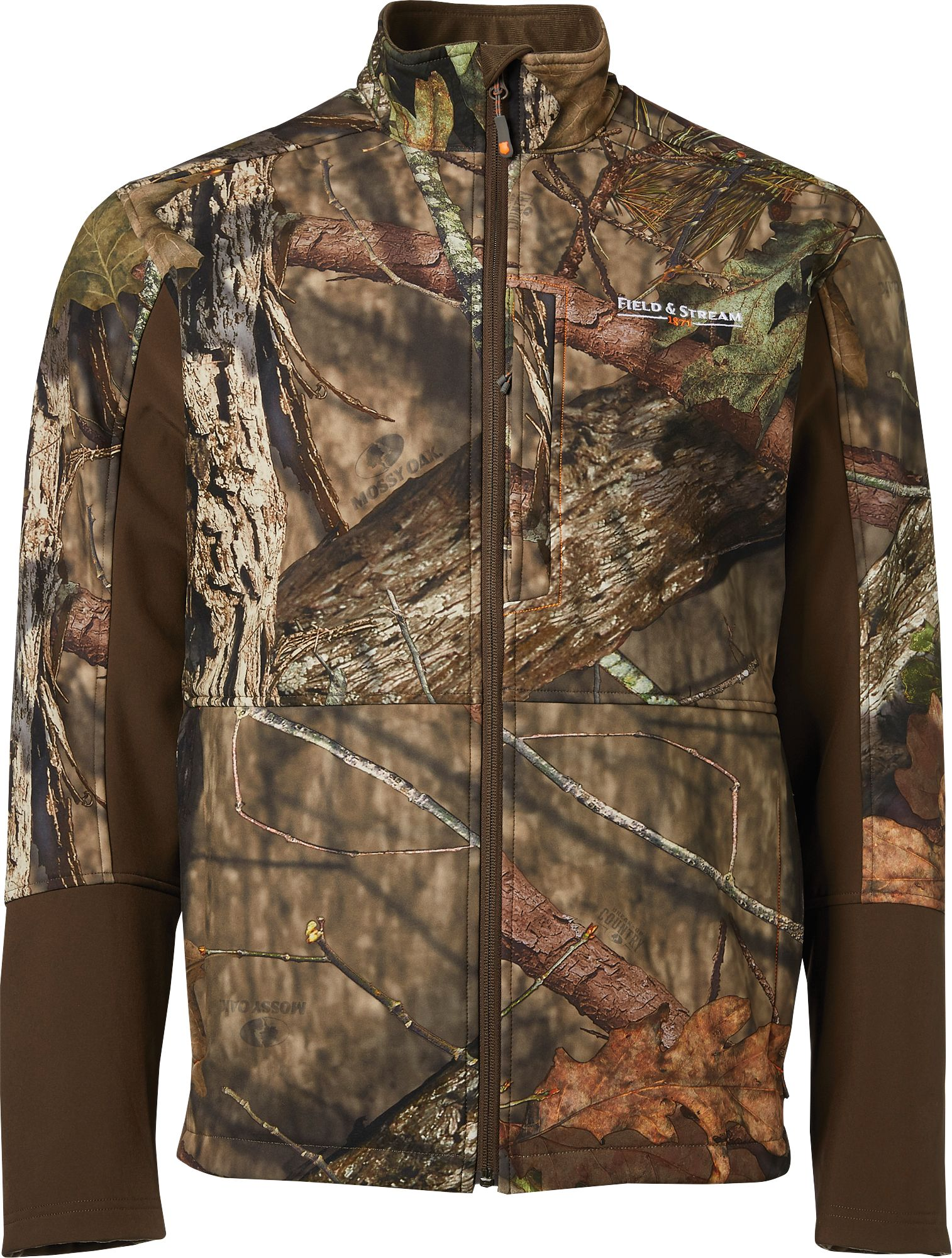 Field & Stream Men's Softshell Hunting Jacket, Size: XXXL, Mossy Oak Brk Up Country thumbnail