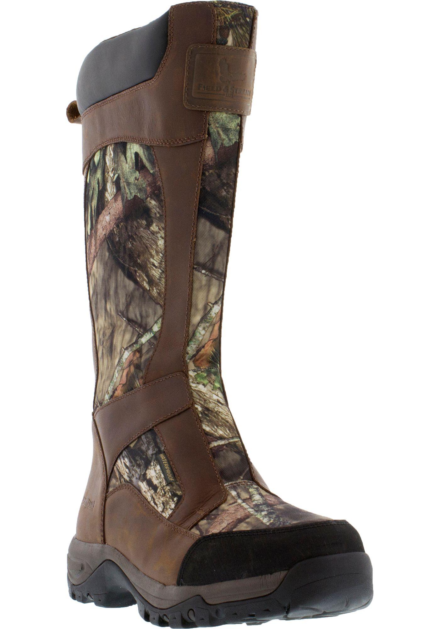 Field & Stream Men's Side-Zip Snake Boots