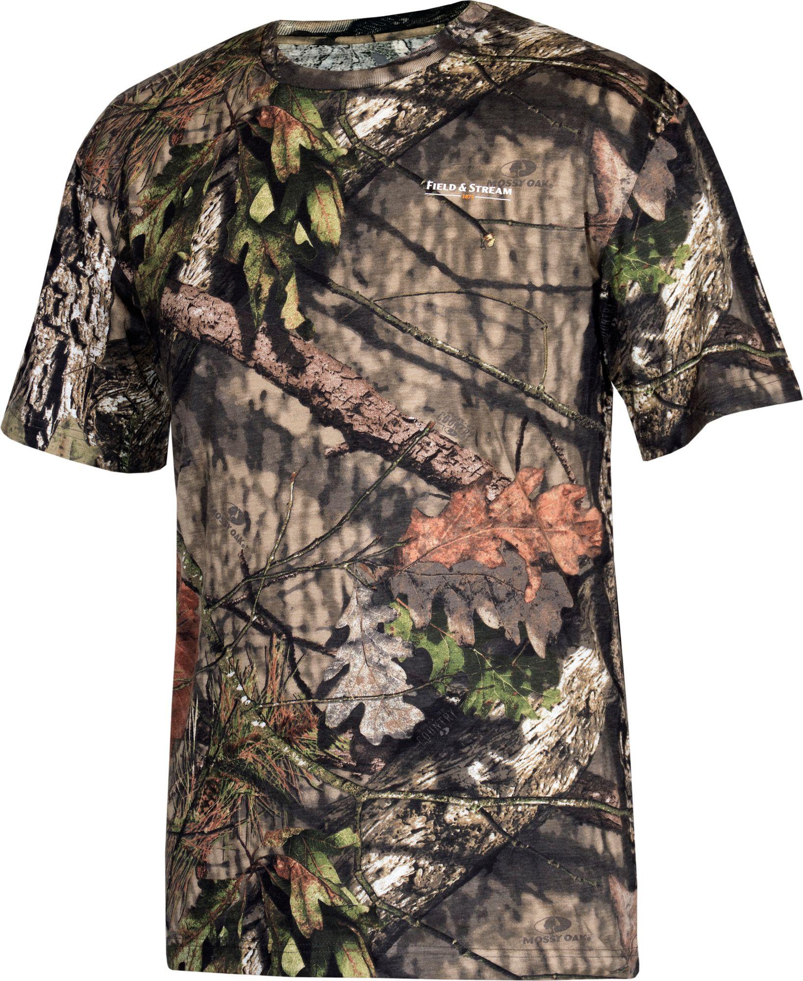 Field & Stream Men's Camo T-Shirt, Size: XXXL, Mossy Oak Brk-Up Country