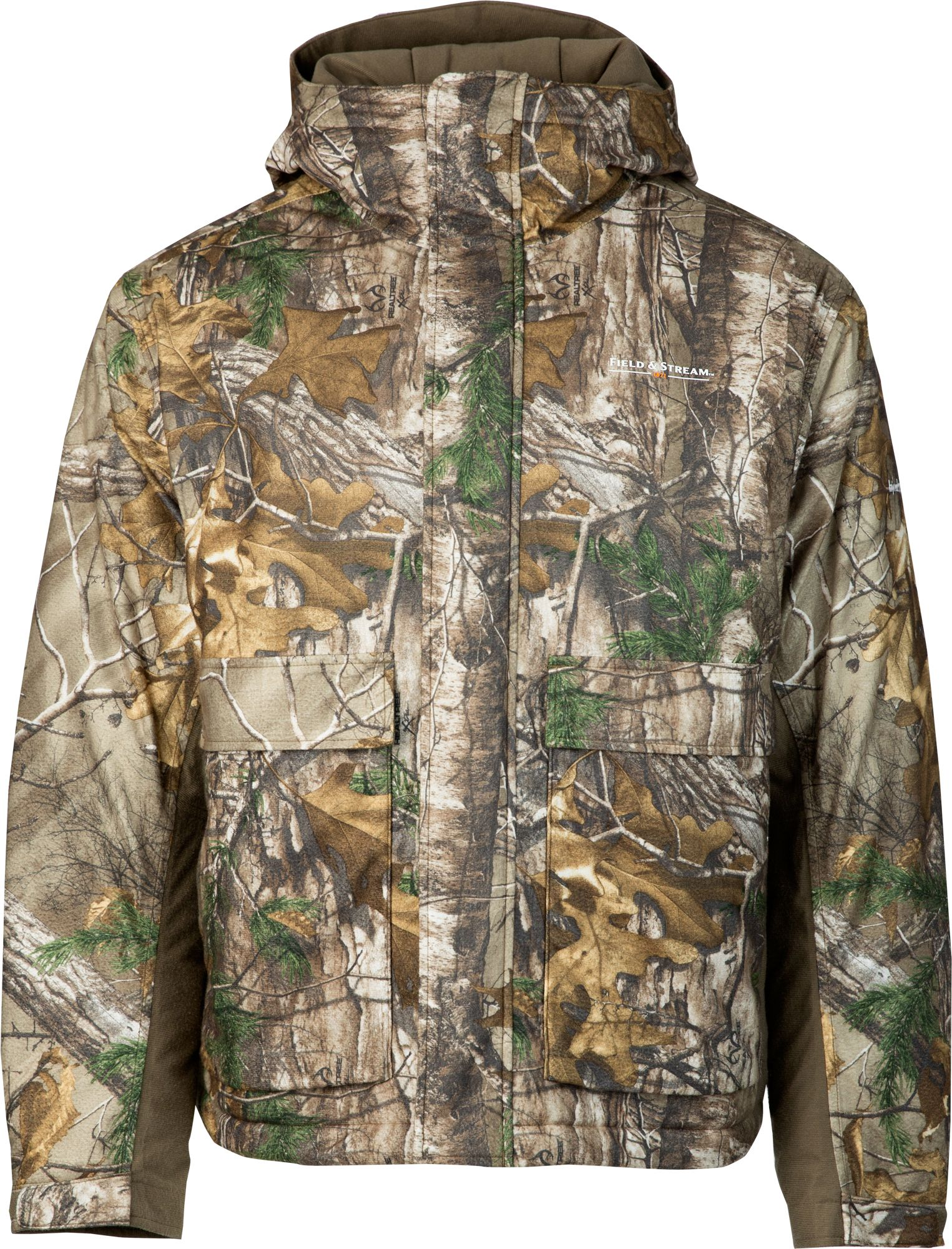 Field & Stream Men's True Pursuit Insulated Hunting Jacket, Realtree Xtra thumbnail