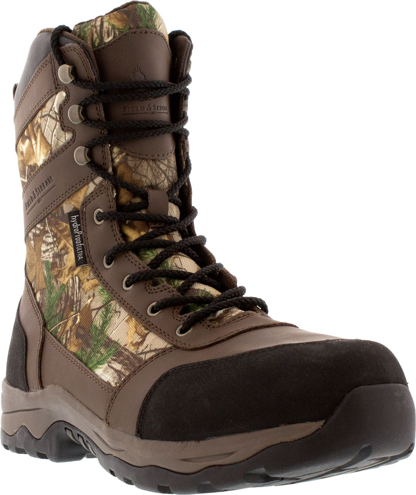 Field & Stream Men's Woodland Tracker Realtree Xtra 400g Waterproof Hunting Boots