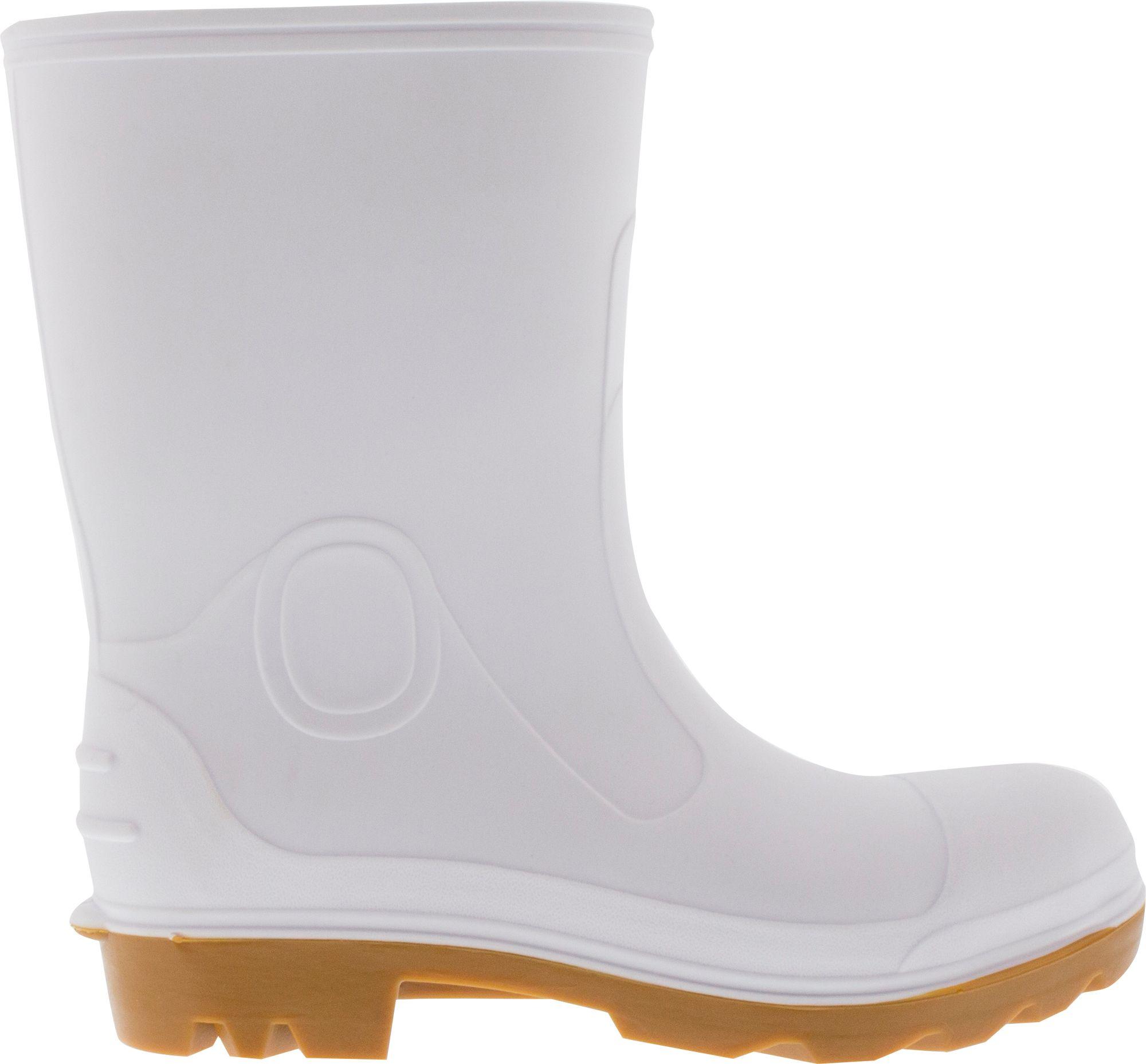 Field & Stream Men's Waterproof Shrimp Boots, Size 14, White