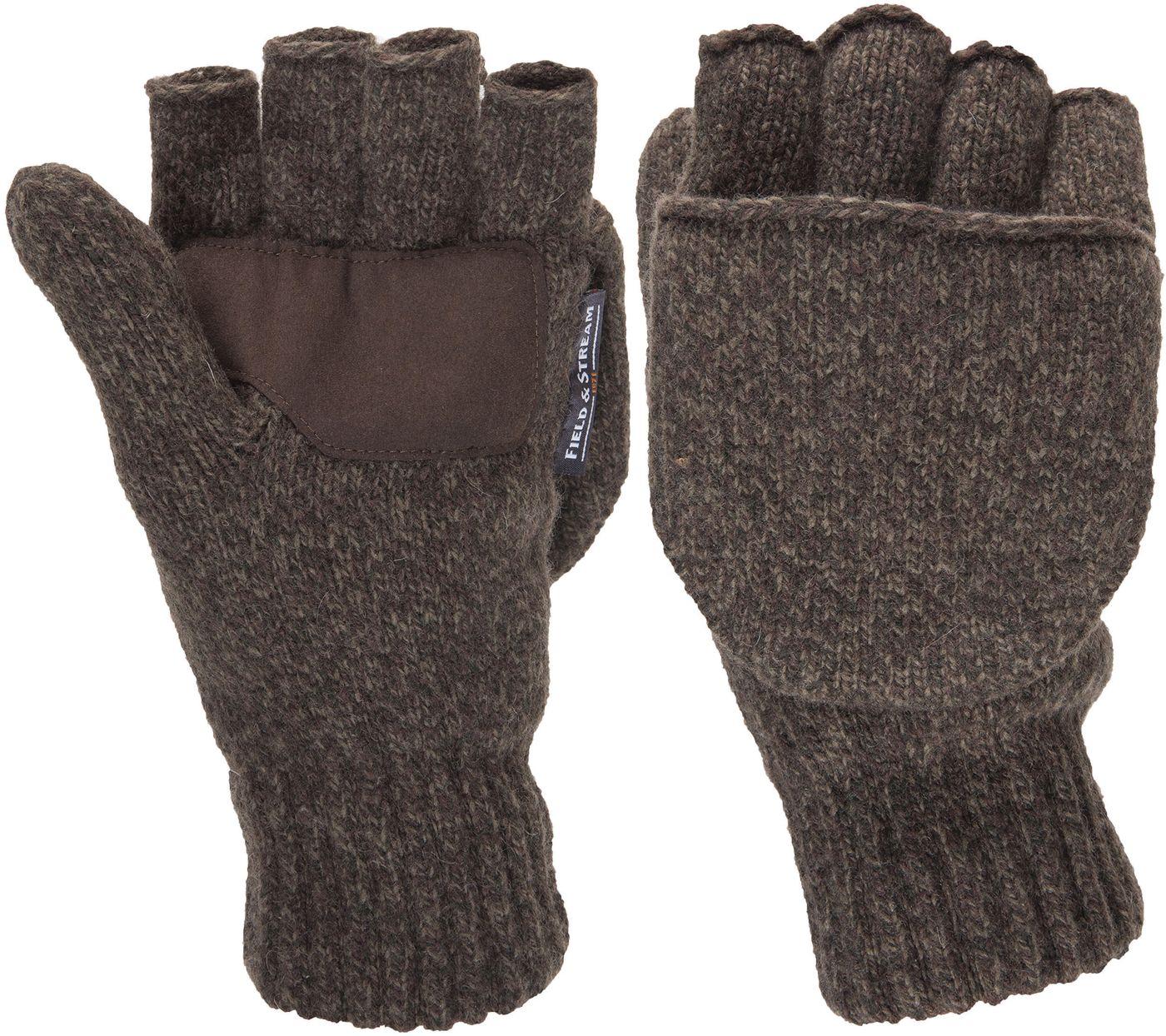 Field & Stream Men's Wool Pop Top Gloves