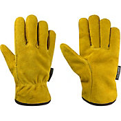 Field & Stream Men's Iron Mill Insulated Leather Gloves