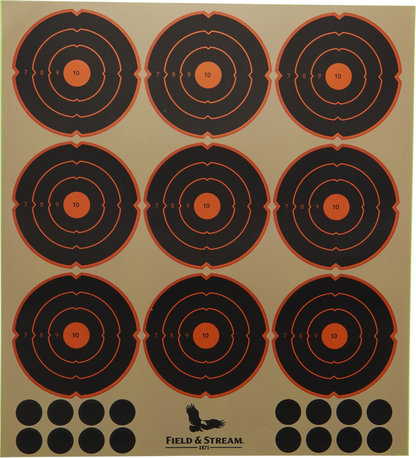 Field & Stream Reactive Peel and Stick Target Spots – 8 pack