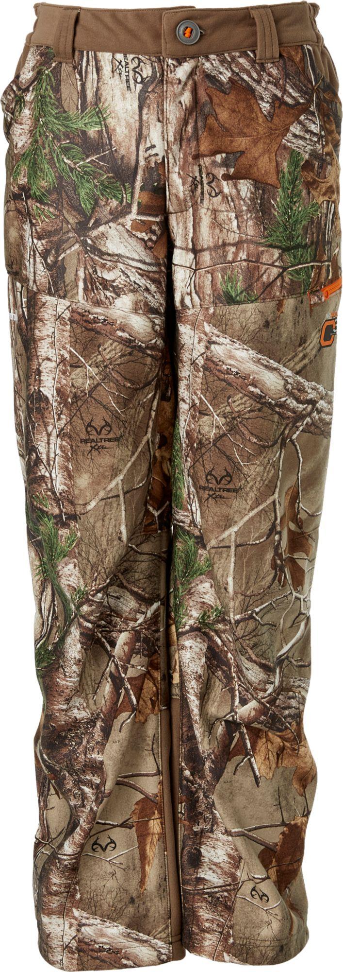 fcc2cb60749bd Field & Stream Youth Every Hunt Softshell Hunting Pants, Kids Unisex, Size:  XL