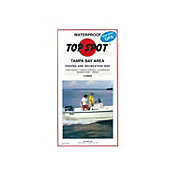 Top Spot Florida Tampa Bay Area Fishing Map