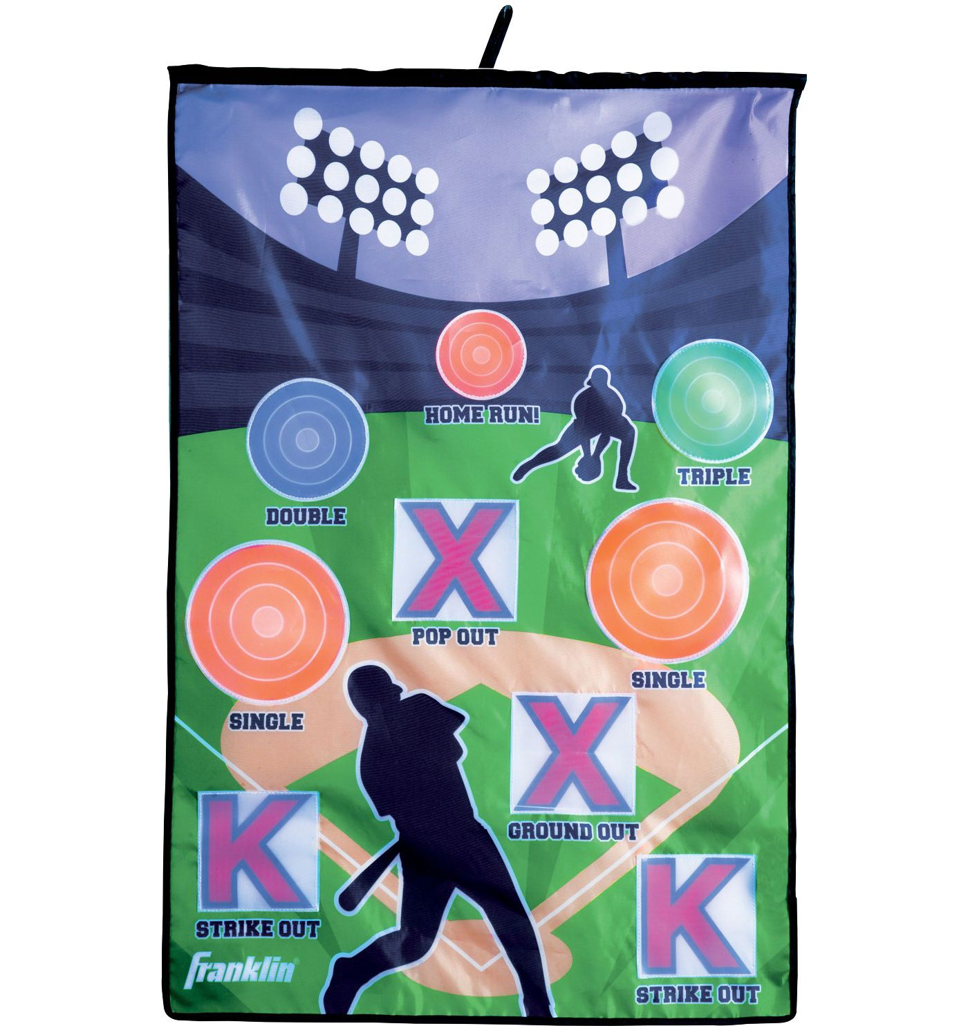 Franklin Target Indoor Pitch Baseball Game