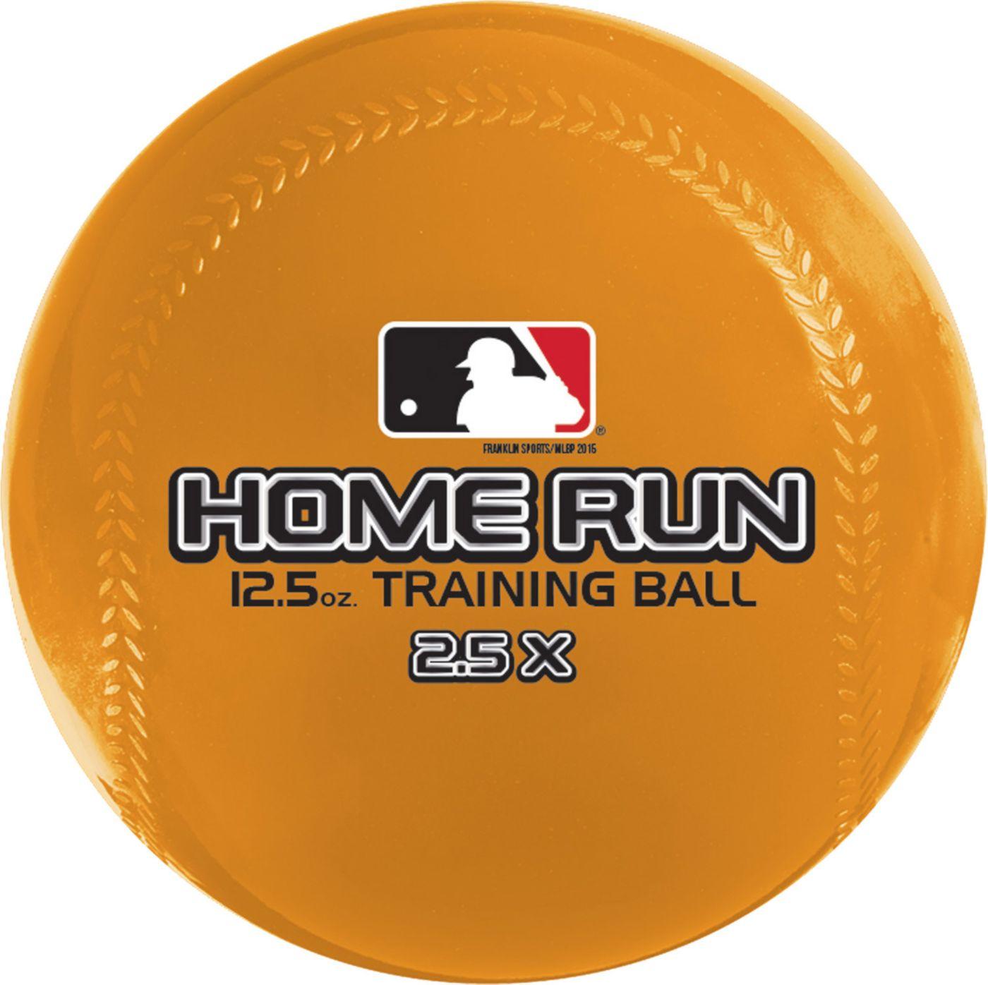 Franklin 12.5 oz. Home Run Training Balls – 6 Pack