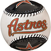 Franklin Houston Astros Metallic and Pearl Soft Strike Baseball
