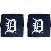 "Franklin Detroit Tigers Navy 2.5"" Wristbands"