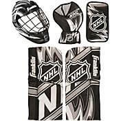 e9e0b76ece1 Franklin NHL Mini Hockey Goalie Equipment and Mask Set