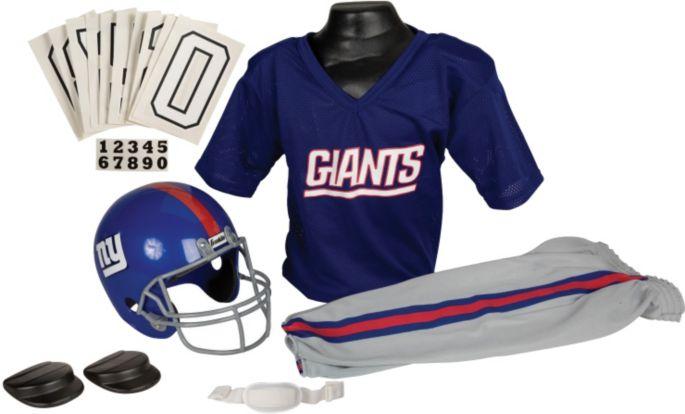 wholesale dealer 20990 becb2 Franklin New York Giants Youth Deluxe Uniform Set