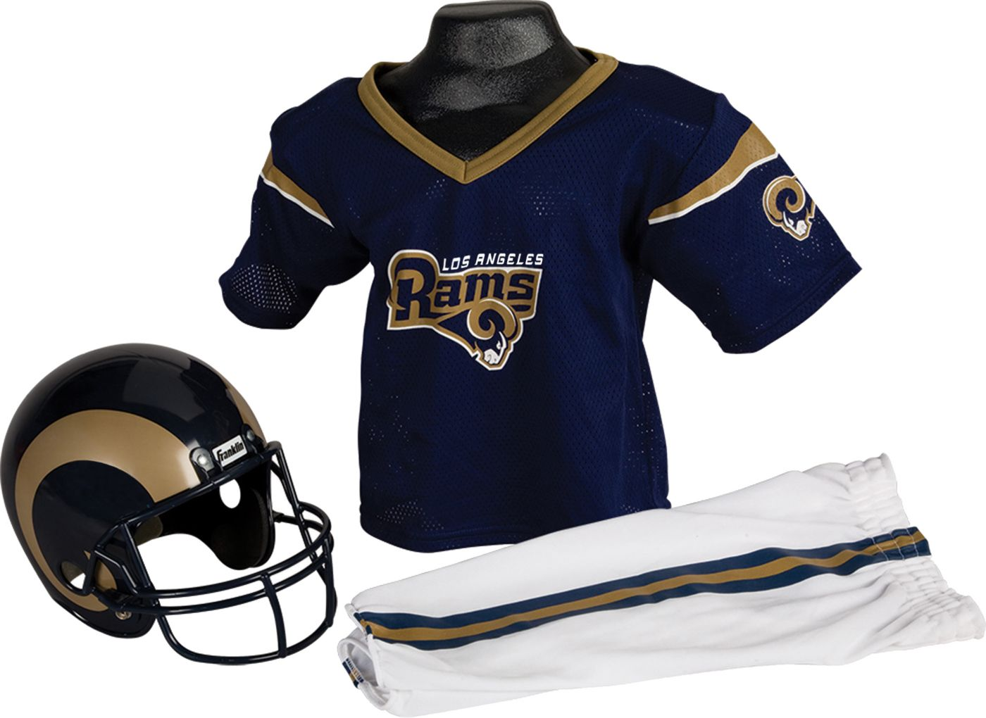 Franklin Los Angeles Rams Youth Deluxe Uniform Set