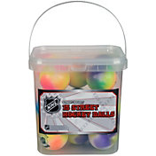 Franklin NHL Extreme Color Street Hockey Ball Bucket