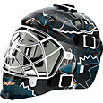 Franklin San Jose Sharks Mini Goalie Mask