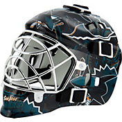 Franklin San Jose Sharks Mini Goalie Helmet