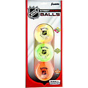 Franklin NHL Street Hockey Balls Combo Pack – 3 Pack