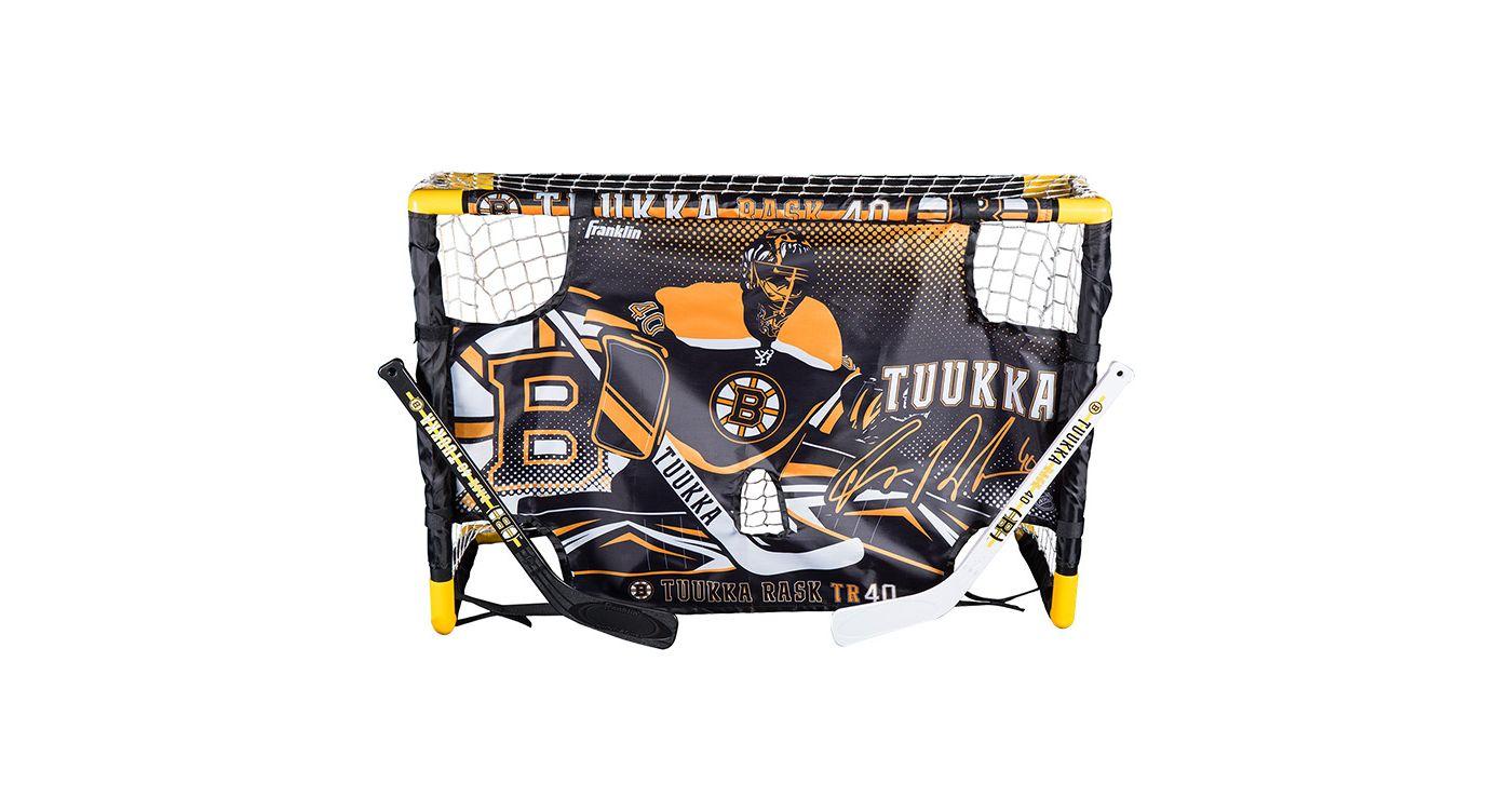 Franklin Tuukka Rask Mini Hockey Goal Set w/ Target