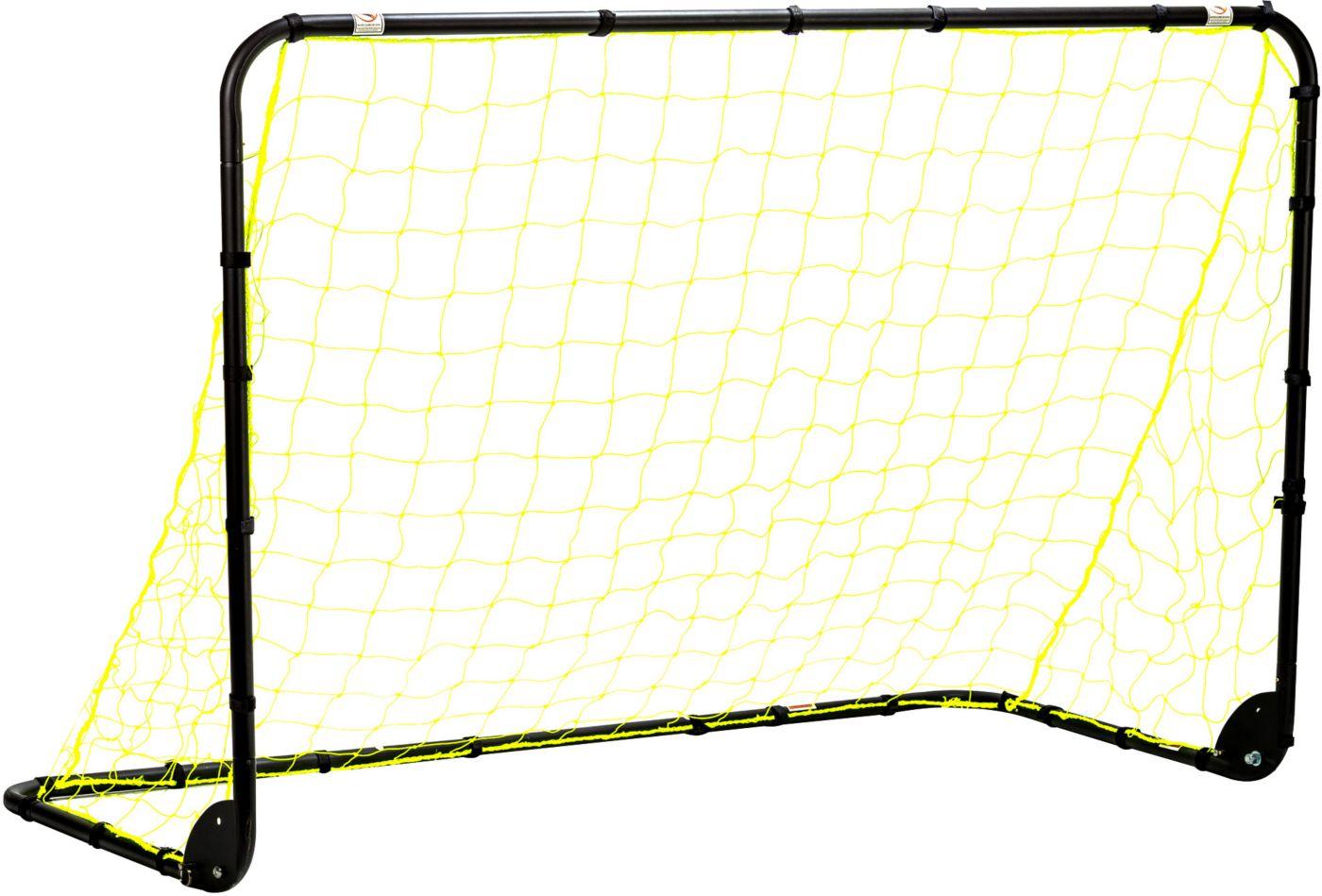 Franklin 6' x 4' Powder-Coated Steel Folding Soccer Goal