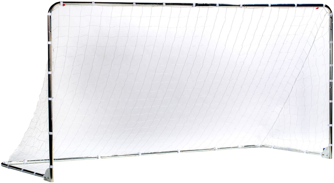 Franklin 12' x 6' Galvanized Steel Folding Soccer Goal