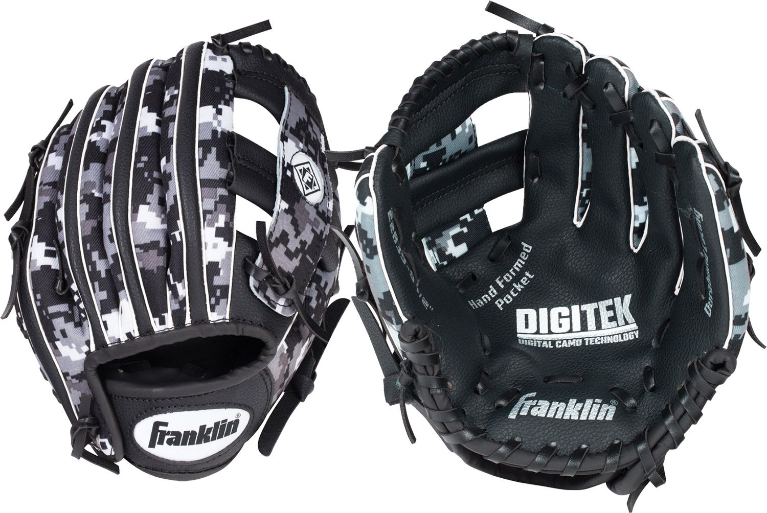 "Franklin 9.5"" T-Ball RTP Series Glove, Kids Unisex, Size: LEFT HAND THROW thumbnail"