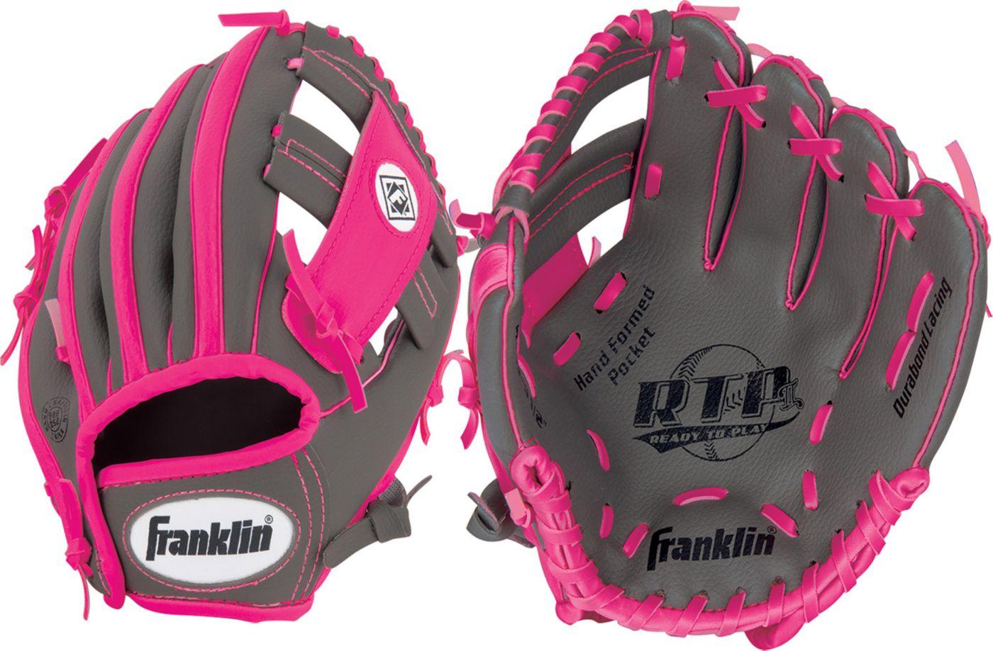 "Franklin 9.5"" Girls' T-Ball RTP Series Glove"