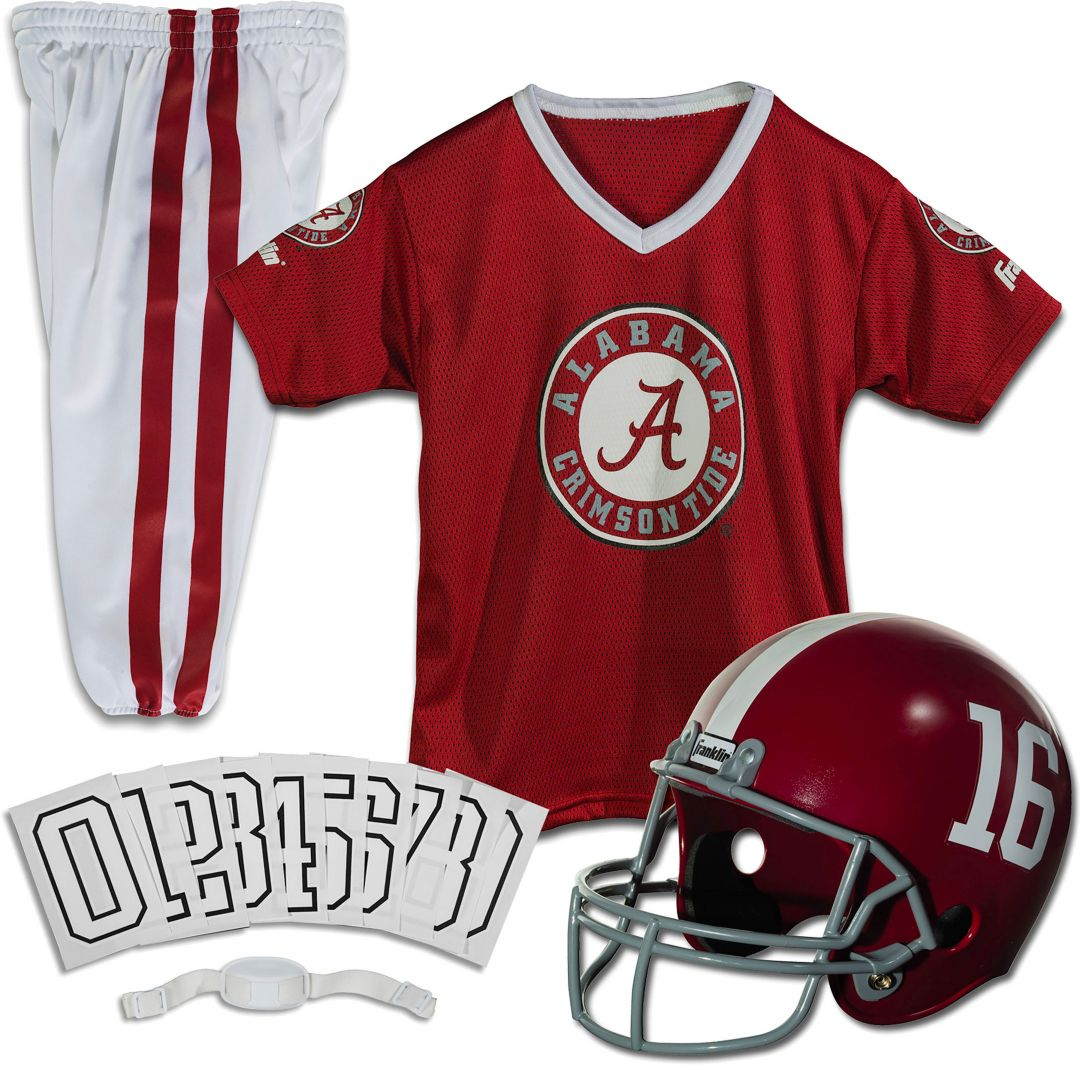 designer fashion 723ca f31e8 Franklin Alabama Crimson Tide Deluxe Uniform Set