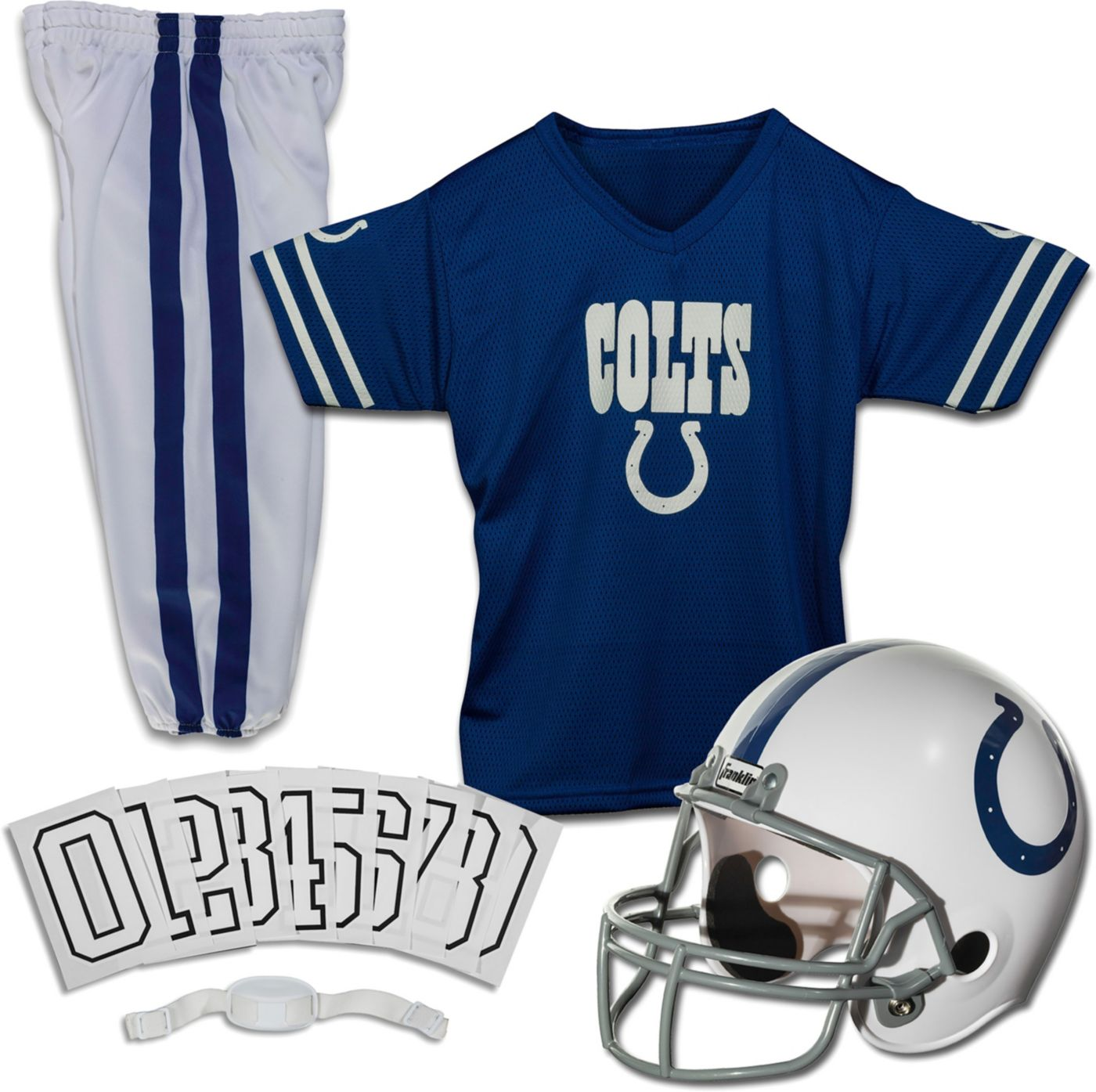 Franklin Indianapolis Colts Youth Deluxe Uniform Set