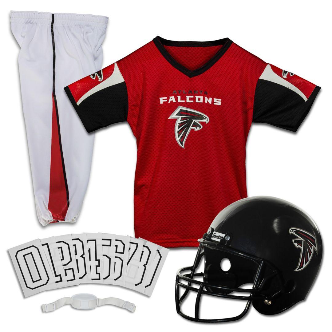 buy online 3f3a8 f807a Franklin Atlanta Falcons Youth Deluxe Uniform Set