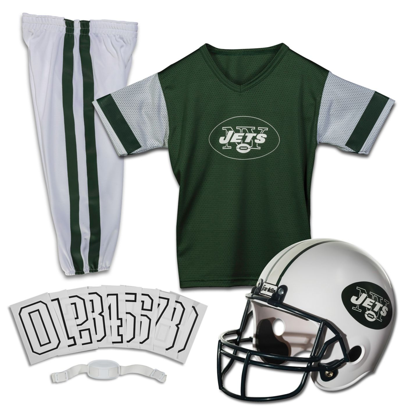 Franklin New York Jets Youth Deluxe Uniform Set