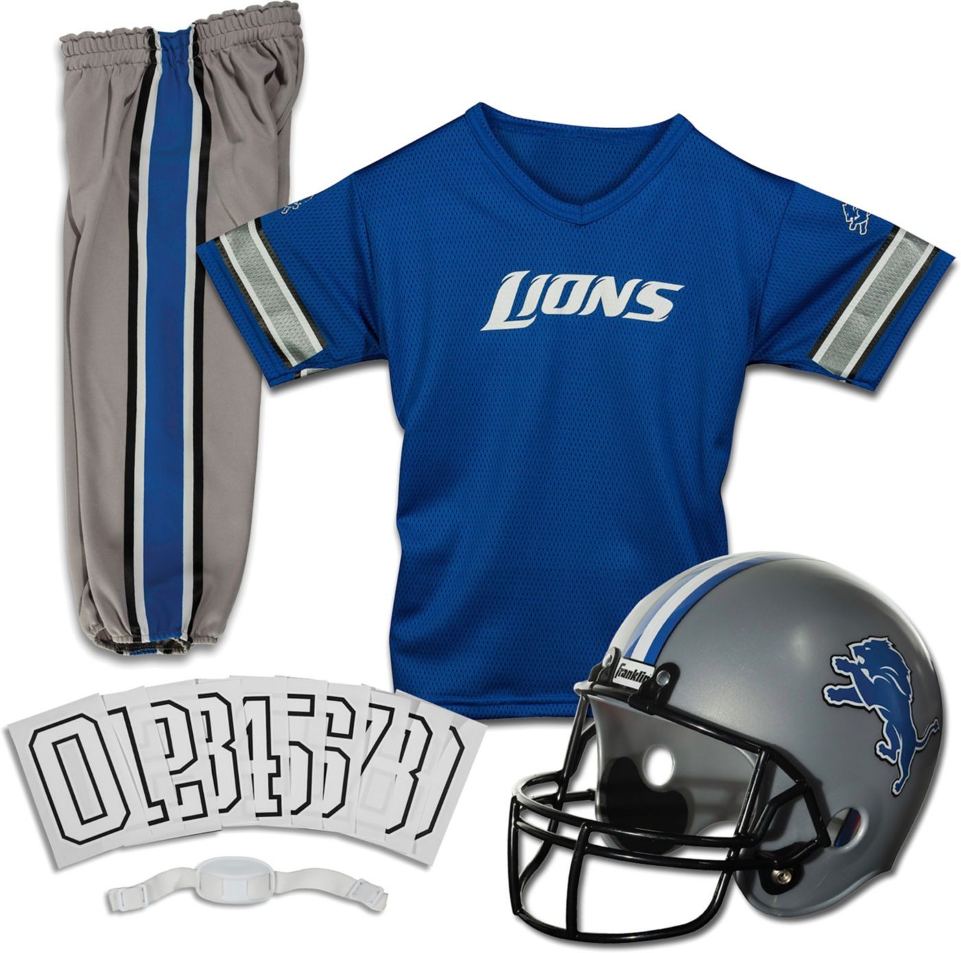 Franklin Detroit Lions Youth Deluxe Uniform Set