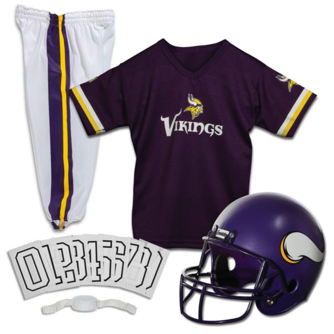 size 40 0c7c6 9e6f6 Franklin Minnesota Vikings Youth Deluxe Uniform Set