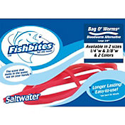 Fishbites Bag O' Worms Longer Lasting Saltwater Soft Bait