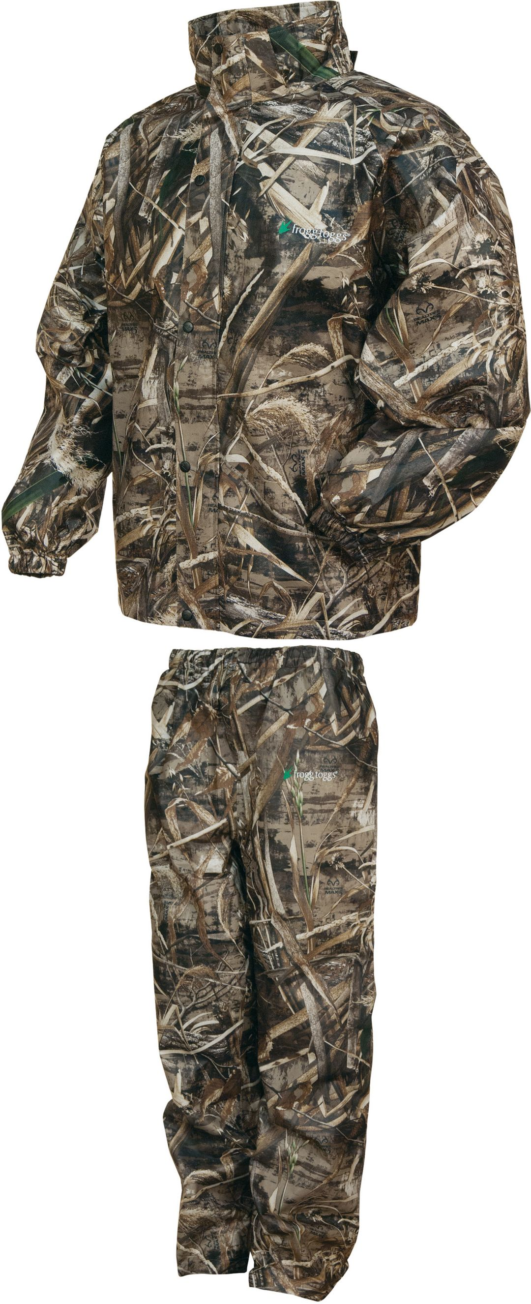 80134d8a150df frogg toggs Men's All Sport Camo Rain Suit | Field & Stream