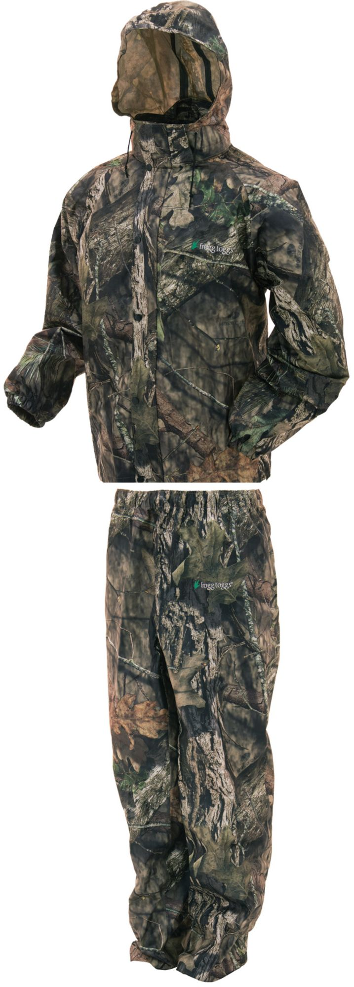 frogg toggs Men's All Sport Camo Rain Suit, Medium, Brown