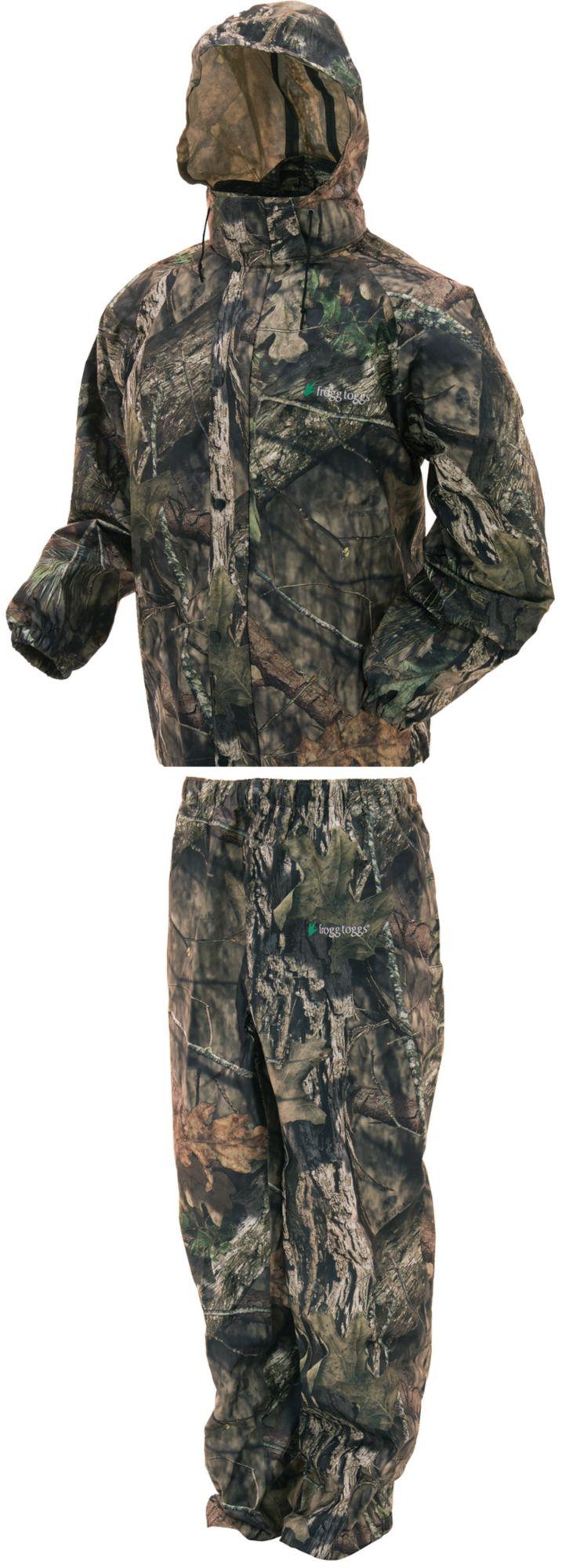 frogg toggs Men's All Sport Camo Rain Suit, Size: Medium, Brown thumbnail