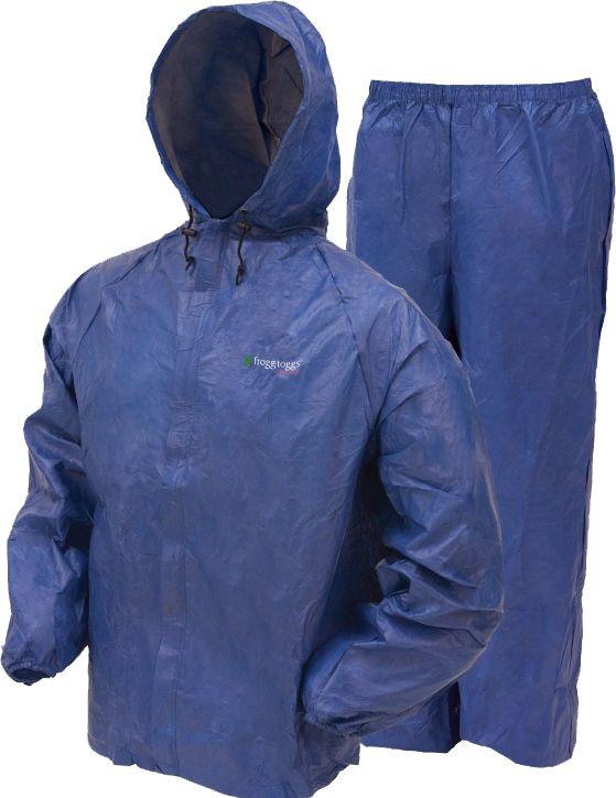 frogg toggs DriDucks Ultra-Lite Rain Suit, Men's, Size: Small, Blue thumbnail