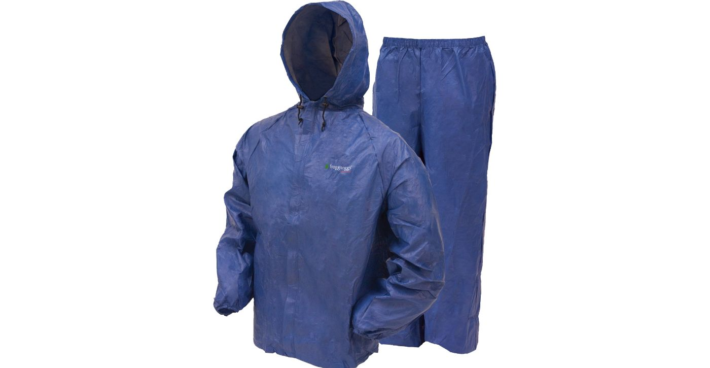 7449f21d6db3e Frogg Toggs Toad Rage 2Tone Jacket · Frogg Toggs Breathable Rain Suits: Frogg  Toggs DriDucks Ultra-Lite Rain Suit