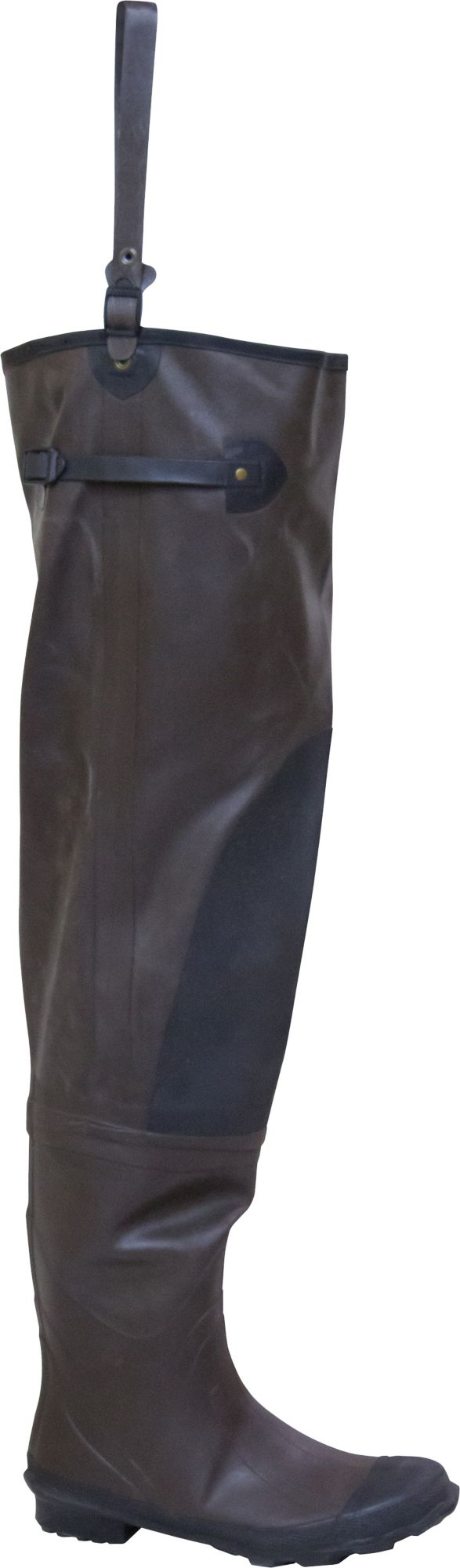 frogg toggs Classic Rubber Hip Waders, Men's, Size 10, Brown