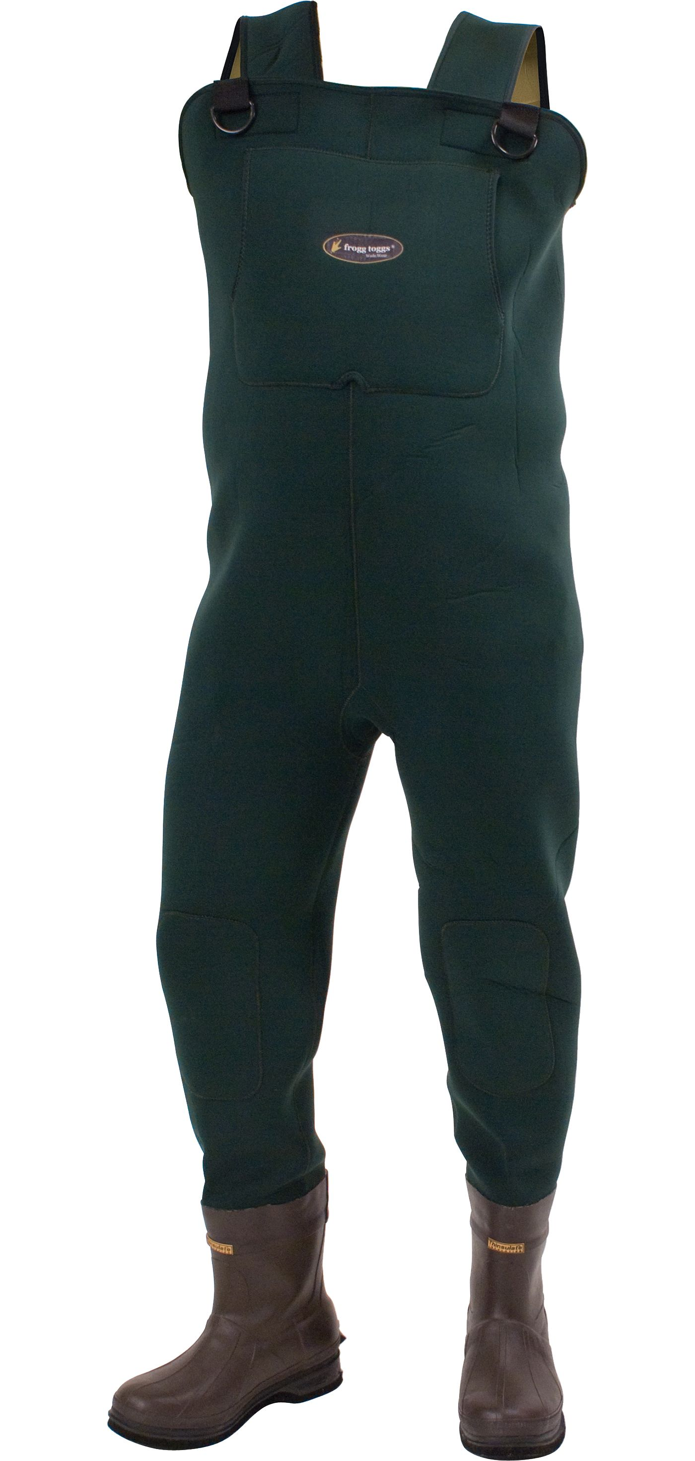frogg toggs Amphib Neoprene Cleated Chest Waders