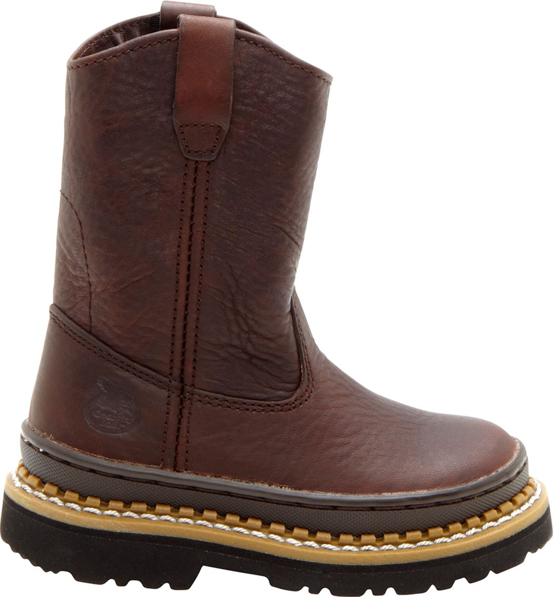 1c96684d418 Georgia Boot Kids' Wellington Work Boots