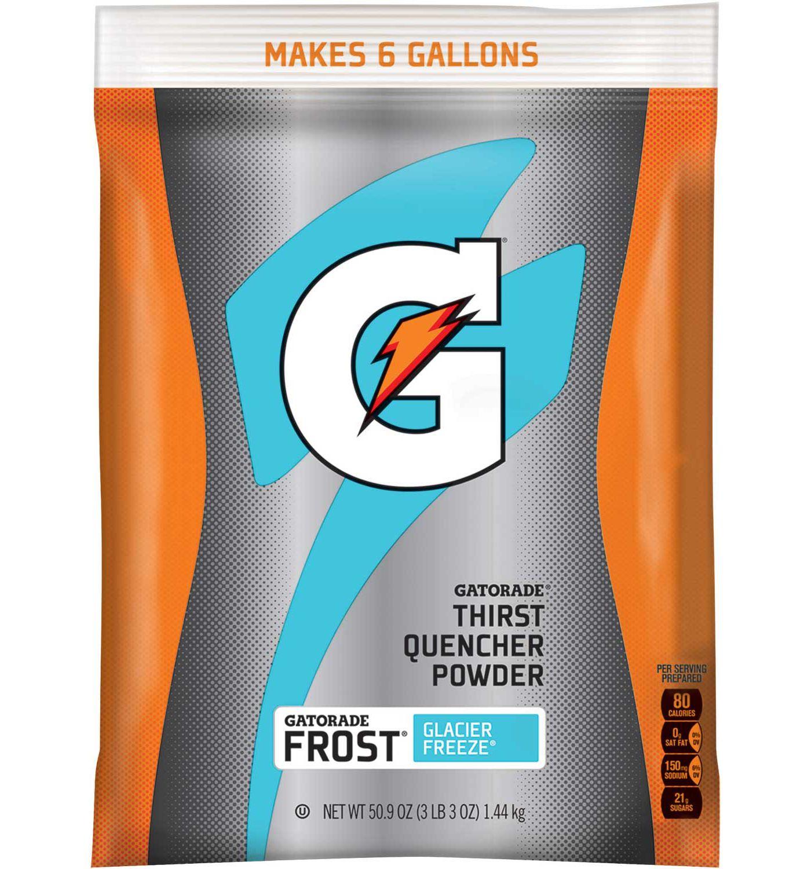 Gatorade Glacier Freeze Thirst Quencher Sports Drink Mix 51 OZ