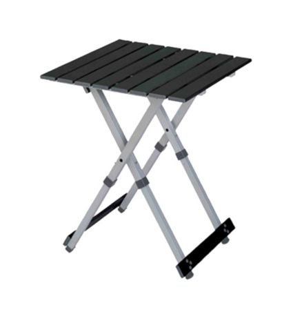 GCI Outdoor Slim-Fold Director/'s Camp Chair with Side Table