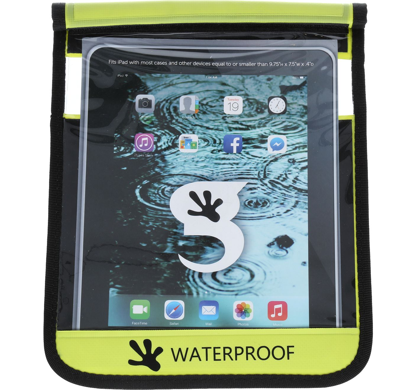geckobrands Waterproof Tablet Dry Case