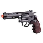 Game Face GF600 8 Shot Revolver Airsoft Gun – Black
