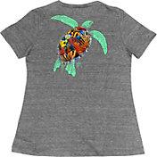 Guy Harvey Women's Turtle Reef V-Neck T-Shirt